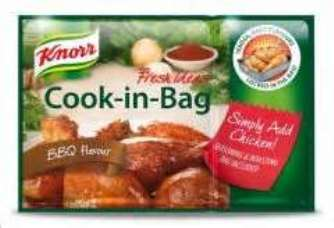 Knorr Cook in Bag BBQ Flavour